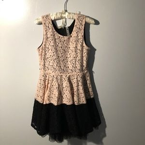 Knitworks Girl's Skater Dress, Size 18.5